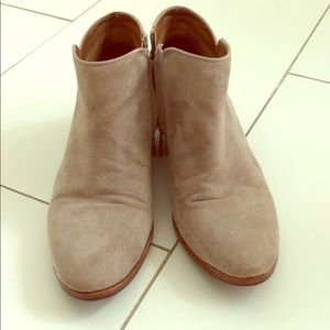 Sam Edelman grey booties